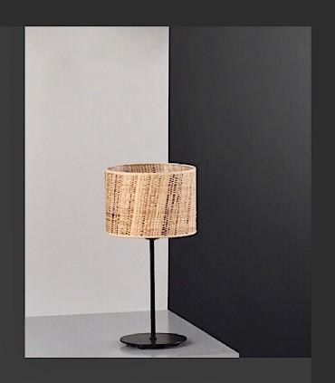 Lámpara de mesa RAFIA 1L E27 - ILUSORIA