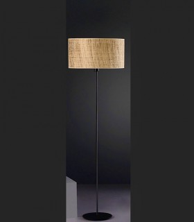 Lámpara de pie RAFIA 1L E27 - ILUSORIA