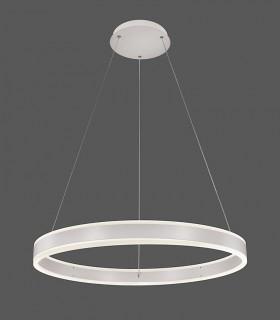 Lámpara Colgante NASSAU LED 52W Ø60cm blanco - ACB