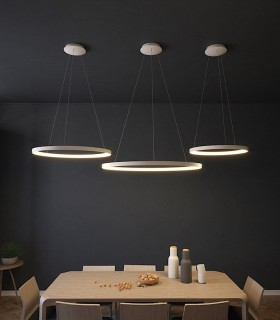 Lámparas Colgantes GRACE LED blanco - ACB