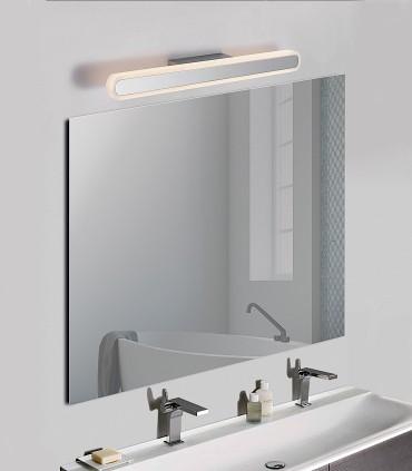 Adela aplique LED cromo arenado 37cm/67cm - ACB
