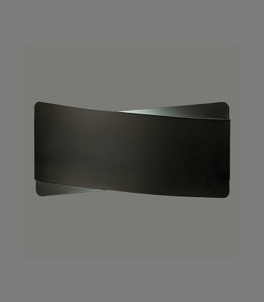 Aplique bombilla E27 Unax negro - ACB
