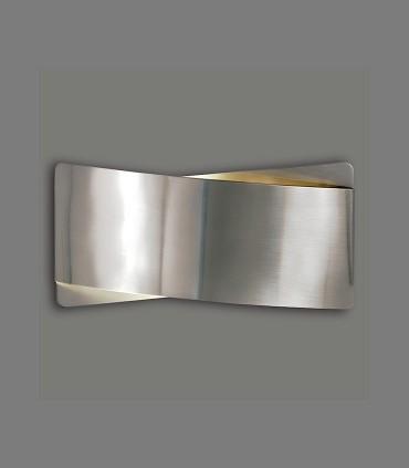Aplique bombilla E27 Unax níquel satinado - ACB