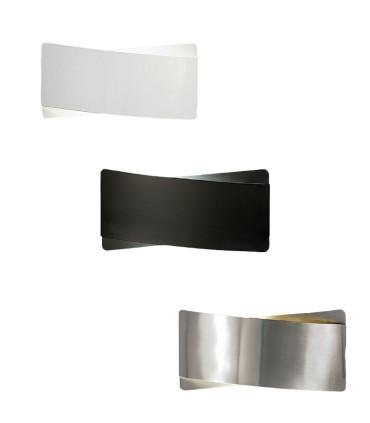 Aplique bombilla E27 Unax blanco, negro o níquel - ACB