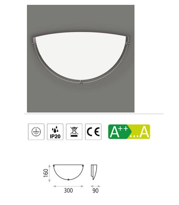 Características Aplique para bombilla Kali E14 - ACB