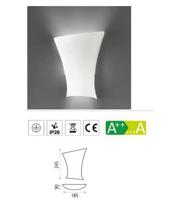 Características Aplique bombilla E14 Ondas - ACB