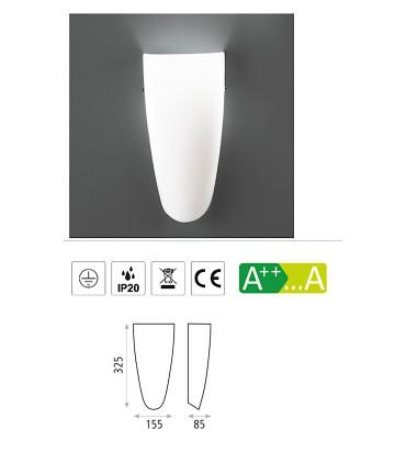 Características Aplique bombilla E27 Gilda - ACB