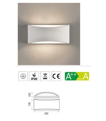 Características Aplique bombilla E14 Dana - ACB