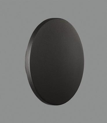 Blas, Aplique LED 8W 3000K Negro Ø18 - ACB