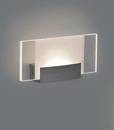 Sasa, Aplique LED 10W 3000K Níquel - ACB