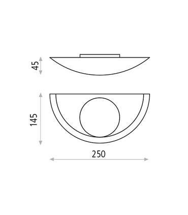 Dimensiones aplique Buton de Acb