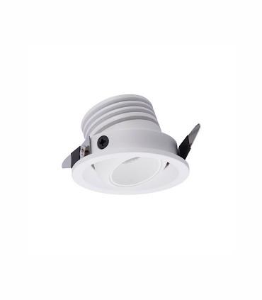 Foco Empotrable NEPTUNO LED 3W Blanco Basculante - Mantra