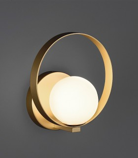 Halo, aplique LED 5W Oro - ACB