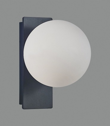 Kin, aplique LED 5W negro - ACB