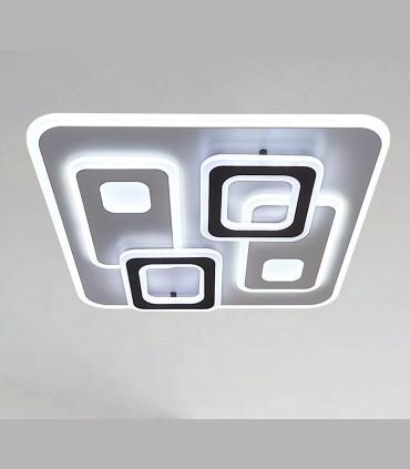 Plafón Retro LED Blanco-café c/mando 120W - Kelektron