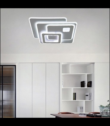 Plafón Retro LED Blanco Smart 75W - Kelektron