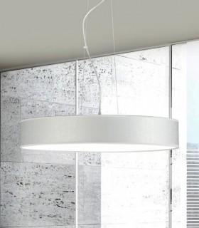 Lámpara colgante SILKETTE LED Blanco Ø60 36W - ILUSORIA