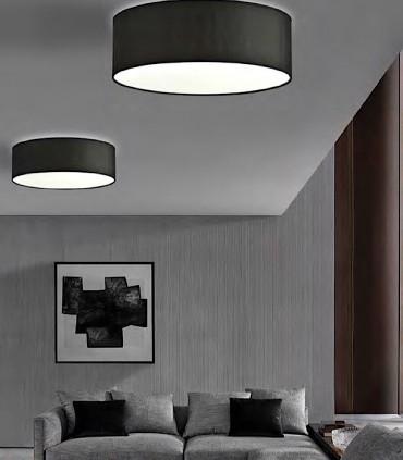 Plafones de techo MADRAS 4 luces E27 Ø60 - ILUSORIA