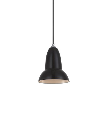 Colgante ND25P metal negro Ø15cm E27