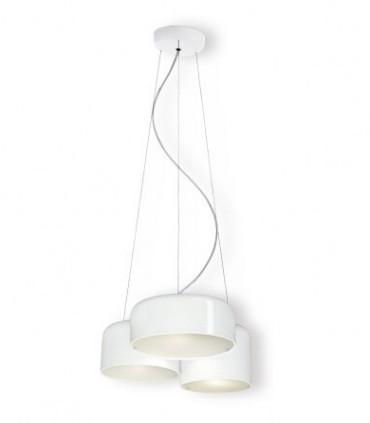Lámpara techo POT 3L blanco triple - Ole by FM