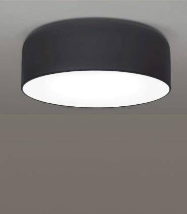 Plafón POT negro 2L E27 Ø31cm  - Ole by FM