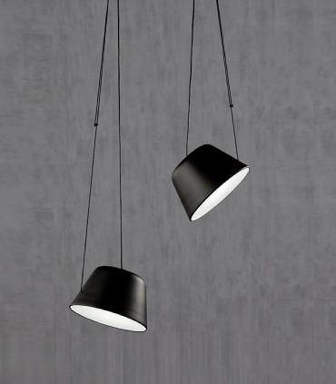 Lámpara Sento  negro con 2 colgantes GU10 - Ole by FM