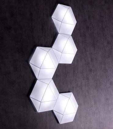 Composición con plafones de Tela Clone 46cm E27 - Ole by FM