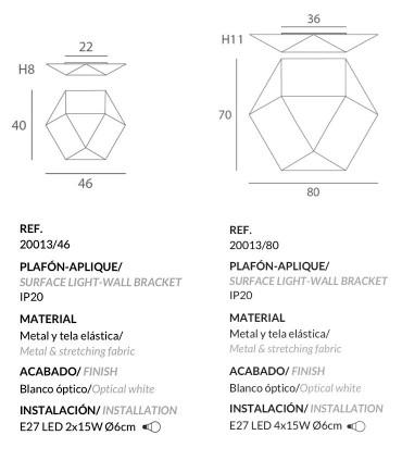 Dimensiones Clone E27 - Ole by FM