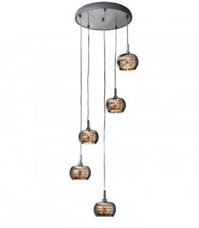 Colgante ARIAN 5 luces - Schuller