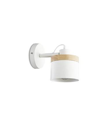 Aplique pared nórdico ND5 metal blanco Ø13cm E27