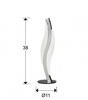 Dimensiones Sobremesa led SINTRA 8,6W - Schuller