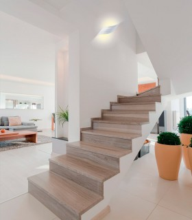 Aplique TAHITI led 6W blanco, C0089. Hotel y hogar.