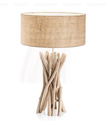 Lámpara de mesa DRIFTWOOD TL1 de Ideal Lux