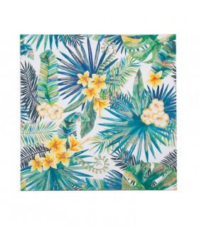 Cuadro Flores tropicales SPR 80x80