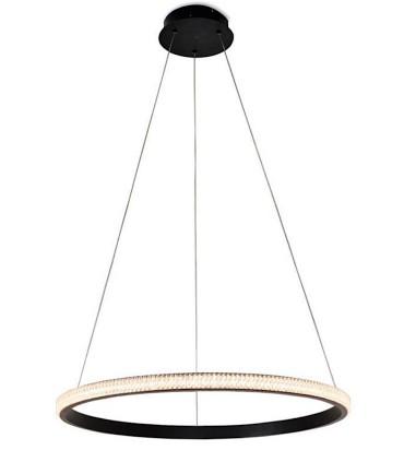 Lámpara RING 1 aro negro - Schuller