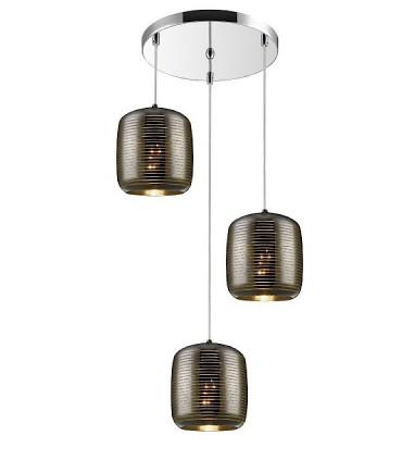 Lámpara VIAS 47cm 3 luces - Schuller