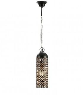 Lámpara 1 luz JAMILA 13cm negro - Schuller