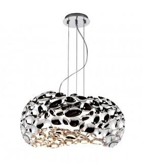 Lámpara 5 luces NARISA 47cm cromo - Schuller