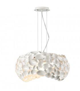 Lámpara 5 luces NARISA 47cm blanco - Schuller