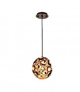 Lámpara 1 luz NARISA 18cm oro rosa - Schuller