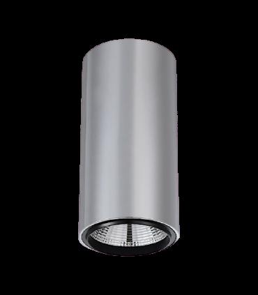 Foco de superficie CIL FIJO CROMO LED 10W Ø90mm YLD