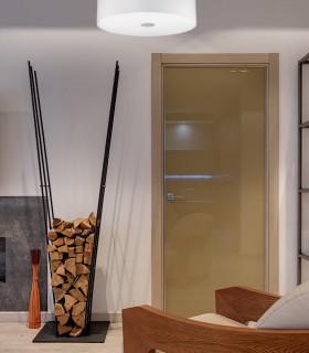 Plafón de techo WOODY blanco PL E27 - IDEAL LUX