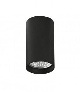 Foco superficie ZOOM GU10 negro Ø56mm - ACB