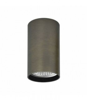 Foco superficie ZOOM GU10 bronce Ø56mm - ACB