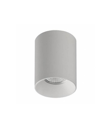 Foco superficie SOUL GU10 blanco Ø80mm - ACB