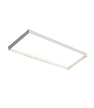 Plafón de techo rectangular 40W blanco Faro LED - ACB