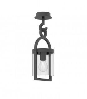 Lámpara plafón MAYA 1L IP54 gris 45cm 6553 - Mantra