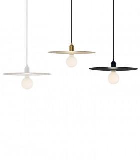 Lámparas PLAT blanco, negro, dorado Ø40cm