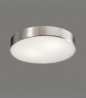 Plafón DINS LED níquel Ø26cm - ACB