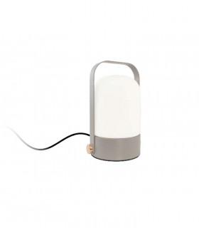 Lámpara Sobremesa táctil gris 5W ND26